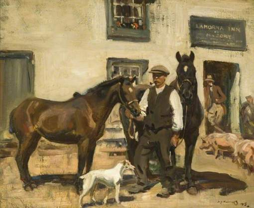 Munnings, Alfred James, 1878-1959; Lamorna Inn