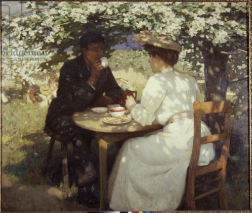 In the Spring Time, 1908-9 (oil on canvas)
