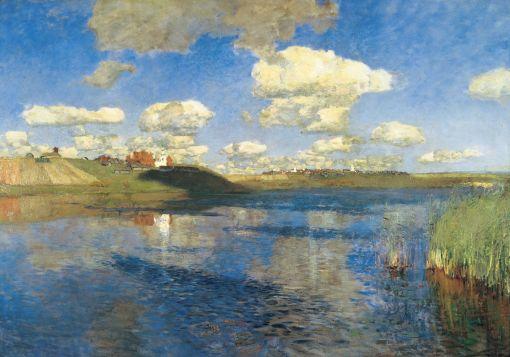 Isaac Levitan - Lake - 1900