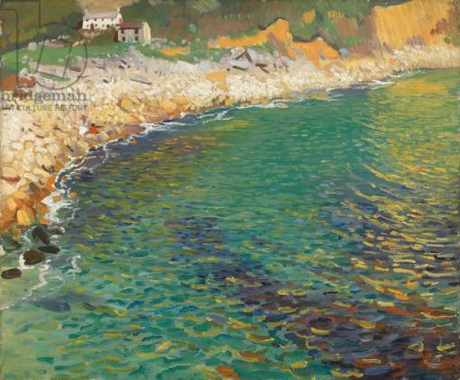 Lamorna Cove,  (oil on canvas)