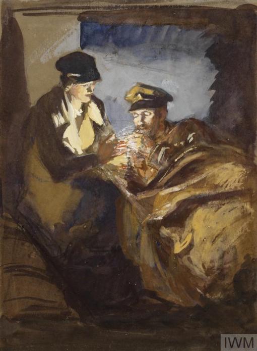 Olive Mudie-Cooke - Nurse Soldier 1918