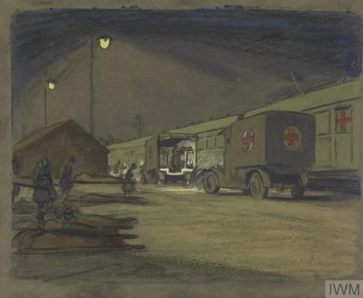 Olive Mudie-Cooke - VAD convoy 1917