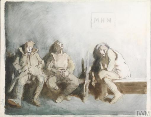 William Orpen - Receiving Room 1917