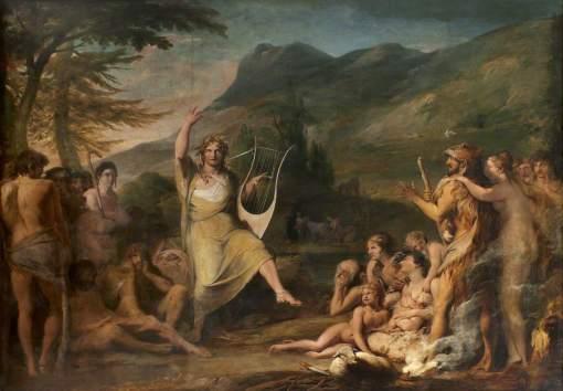 Barry, James, 1741-1806; Orpheus