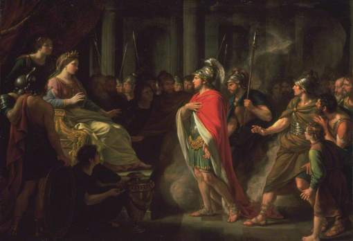 Dance-Holland, Nathaniel, 1735-1811; The Meeting of Dido and Aeneas