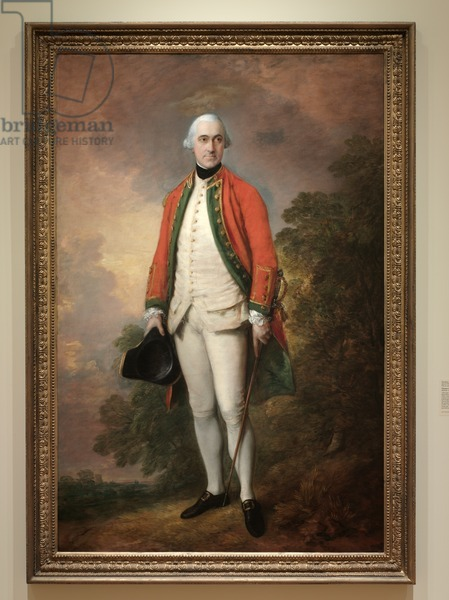 Portrait of George Pitt, First Lord Rivers, c.1768-1769 (oil on canvas)