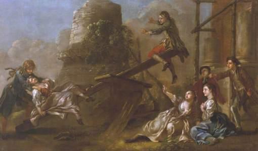 Hayman, Francis, 1708-1776; See-Saw
