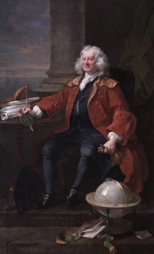 Hogarth, William, 1697-1764; Captain Thomas Coram (1668-1751)