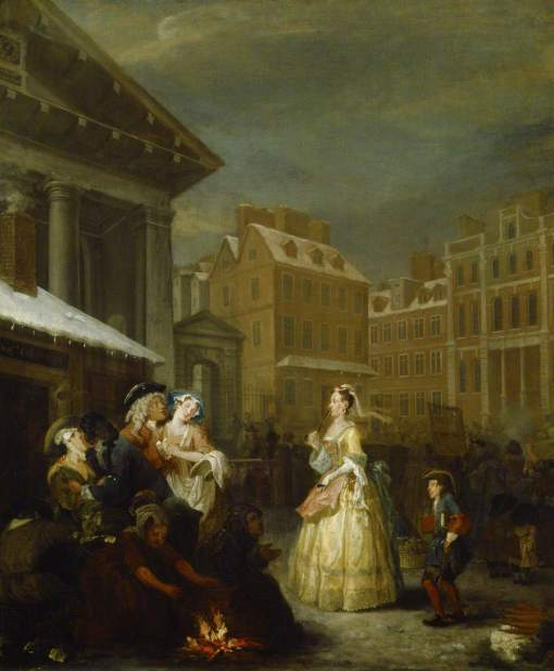 Hogarth, William, 1697-1764; The Four Times of Day: Morning