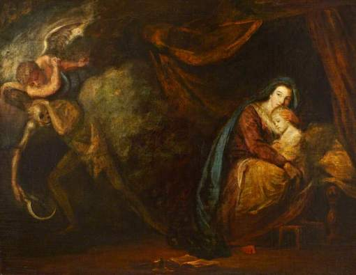 Reynolds, Joshua, 1723-1792; Recovery from Sickness, an Allegory