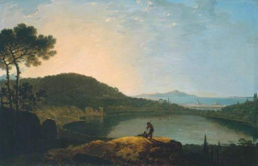 Wilson, Richard, 1713/1714-1782; Lake Avernus and the Island of Capri