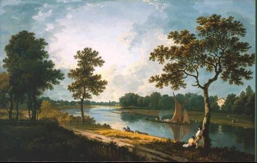 Wilson, Richard, 1713/1714-1782; The Thames near Marble Hill, Twickenham
