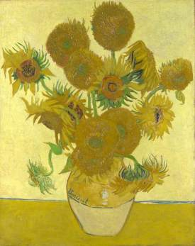 van Gogh, Vincent; Sunflowers; The National Gallery, London; http://www.artuk.org/artworks/sunflowers-115371