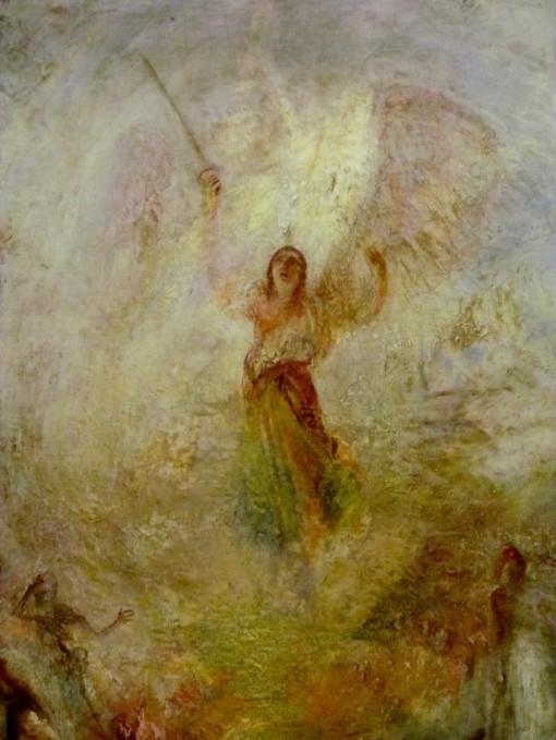Turner - Angel closeup