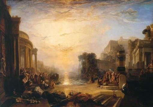 Turner, Joseph Mallord William, 1775-1851; The Decline of the Carthaginian Empire ...