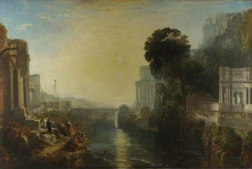 Turner, Joseph Mallord William, 1775-1851; Dido building Carthage, or The Rise of the Carthaginian Empire