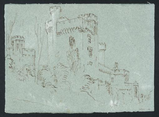 East Cowes Castle from the East 1827 by Joseph Mallord William Turner 1775-1851