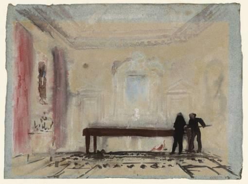 The Billiard Players 1827 by Joseph Mallord William Turner 1775-1851