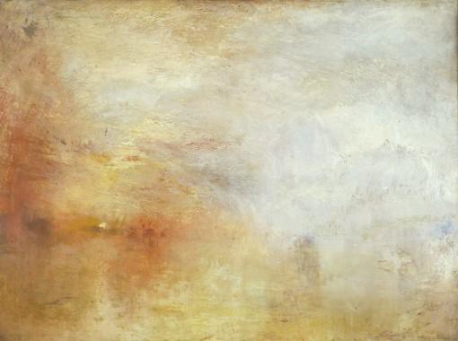 Sun Setting over a Lake c.1840 by Joseph Mallord William Turner 1775-1851