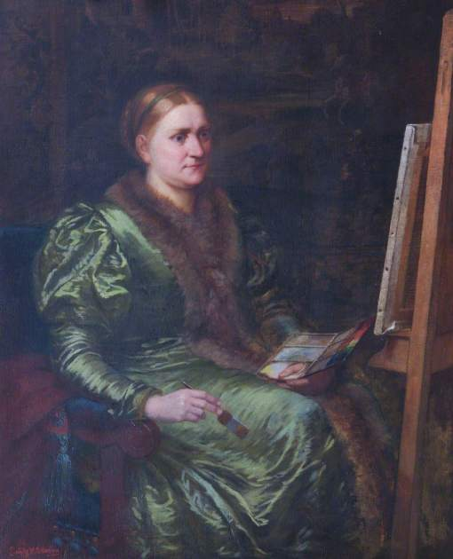 Osborn, Emily Mary, 1828-1925; Barbara Leigh Smith Bodichon