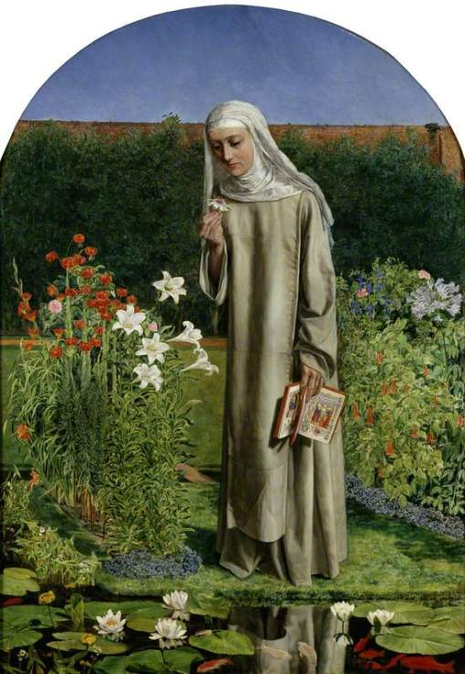Collins, Charles Allston, 1828-1873; Convent Thoughts