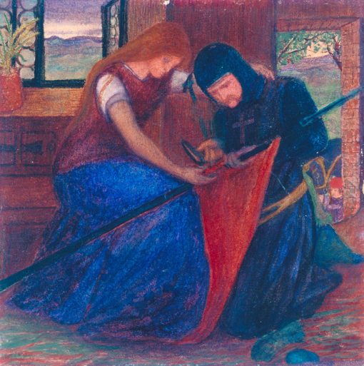 Siddal - Lady and Knight.png
