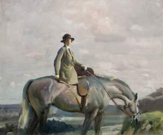 Munnings, Alfred James; In Cornwall (Portrait of the Artist's Wife); Birmingham Museums Trust; http://www.artuk.org/artworks/in-cornwall-portrait-of-the-artists-wife-33975