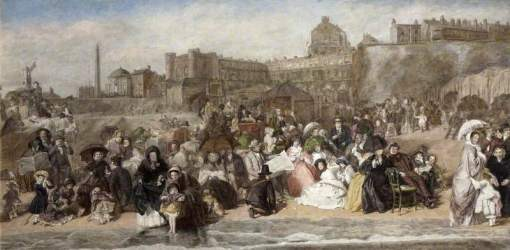 Frith, William Powell, 1819-1909; Life at the Seaside