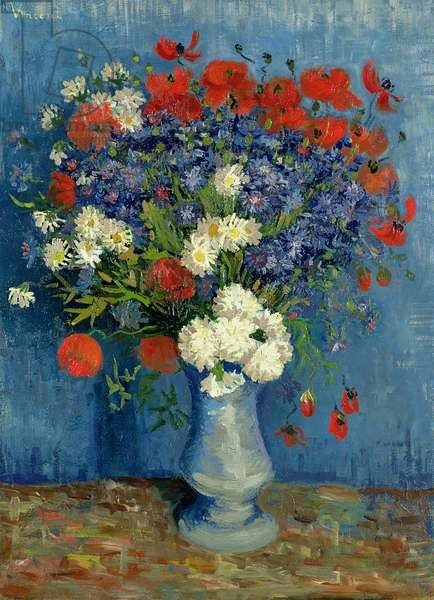 Van Gogh - Cornflowers and Poppies