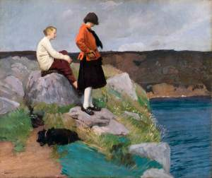 Knight, Laura, 1877-1970; The Cornish Coast