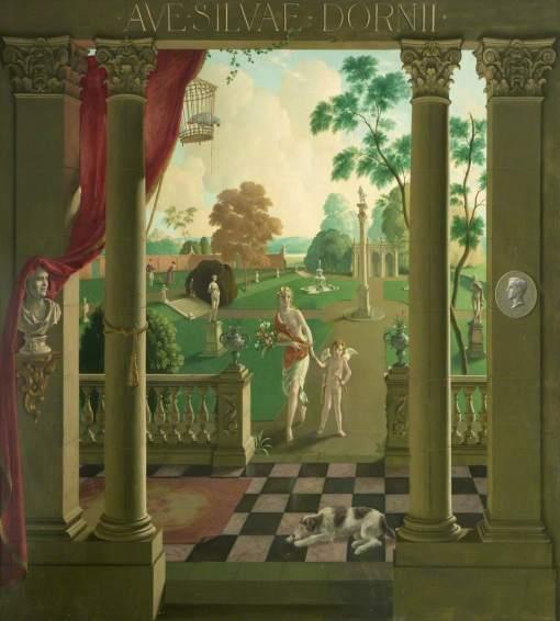 Whistler, Rex, 1905-1944; 'Ave Silvae Dornii'