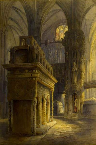 ; Edward the Confessor's Shrine, Westminster Abbey