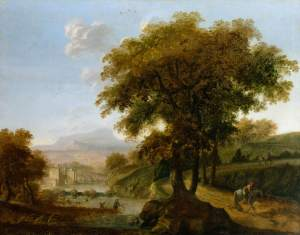 Streater, Robert, 1621-1679; Landscape