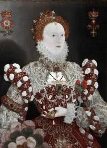 Hilliard, Nicholas, 1547-1619; Elizabeth I (1533-1603): The Pelican Portrait