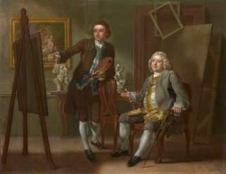 Hayman, Francis; Francis Hayman; Grosvenor Bedford; National Portrait Gallery, London; http://www.artuk.org/artworks/francis-hayman-grosvenor-bedford-156715