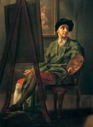 Hayman, Francis; Portrait of the Artist at His Easel; Royal Albert Memorial Museum; http://www.artuk.org/artworks/portrait-of-the-artist-at-his-easel-95650
