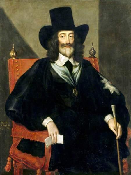 Bower, Edward, 1597-1667; Charles I (1600-1649), at His Trial