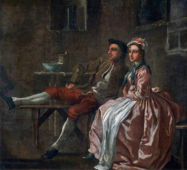 Hayman, Francis, 1708-1776; The Wapping Landlady