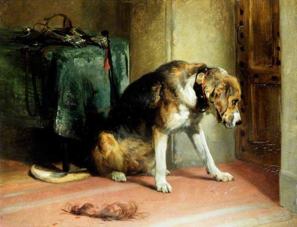 Landseer, Edwin Henry, 1802-1873; Suspense