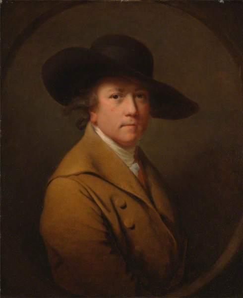 Wright of Derby, Joseph, 1734-1797; Self Portrait
