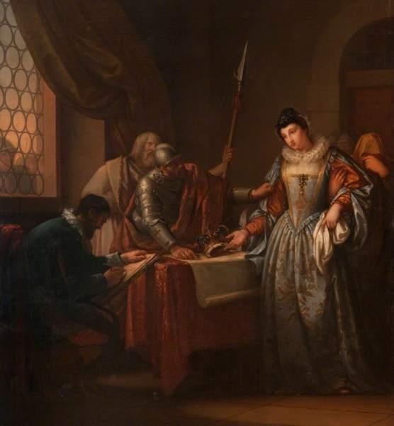 Hamilton, Gavin, 1723-1798; The Abdication of Mary, Queen of Scots