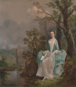 Gainsborough, Thomas, 1727-1788; Portrait of a Woman