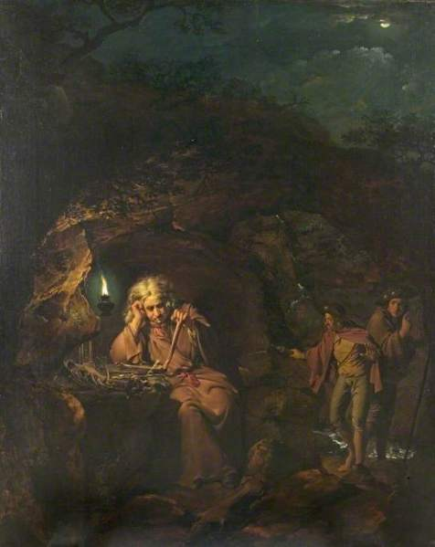 Wright of Derby, Joseph, 1734-1797; A Philosopher by Lamplight