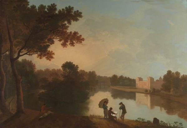 Wilson, Richard, 1713/1714-1782; Wilton House from the Southeast