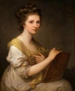 Kauffmann, Angelica, 1741-1807; Angelica Kauffman