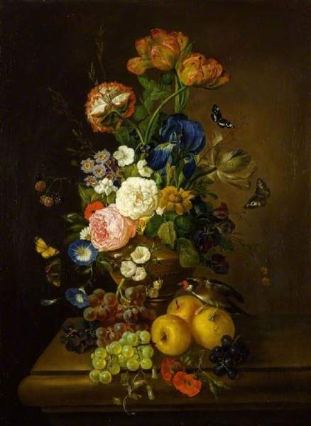 Moser, Mary, 1744-1819; Vase of Flowers